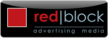 Red Block Media Logo
